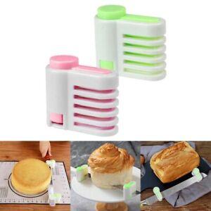 4 Pcs Cake Slicing Leveler Bread Baking Cutter Slicer Durable Kitchen DIY Tools