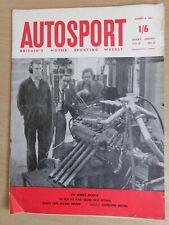 Autosport Magazine 4 Aug 60 - BRM V8 Engine,Ford Galaxy Sunliner