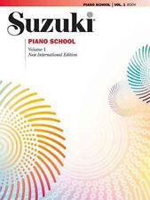 SUZUKI PIANO SCHOOL PIANO BOOK ONLY, VOLUME 1 - NEW INTERNATIONAL EDITION