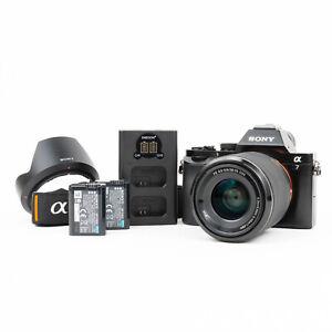 Sony Alpha A7 24MP Mirrorless Camera + Sony 28-70mm OSS Lens - Read Description