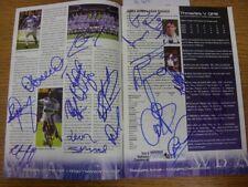 19/10/1999 Autographed Programme: West Bromwich Albion v Queens Park Rangers - H