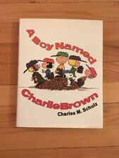 A Boy Named Charlie Brown By Charles M. Schulz, Hardcover