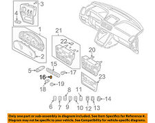 VOLVO OEM 03-14 XC90 Dash Cluster Switch-Blank Cover 8691511