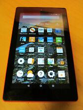 """Amazon Kindle Fire 7"""" 7th Gen x2 Cameras & Micro SD Slot 16GB Orange F3PX"""