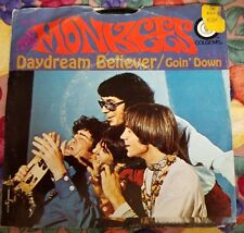 Vintage 45 RPM The Monkees Day Dream  Beliviever Picture Sleeve 66-1012 1967