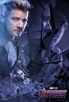 Avengers Endgame movie poster  - 11 x 17 - Hawkeye poster (c) Jeremy Renner