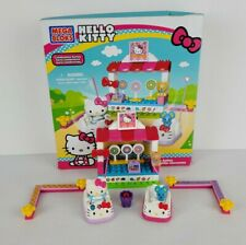Hello Kitty Busy Bumper Cars Mega Bloks 10927 Celebration Series