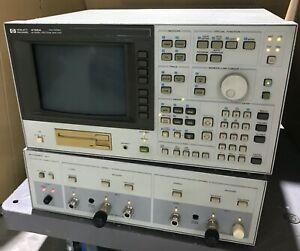 HP HEWLETT PACKARD 4195A 10HZ - 500MHZ NETWORK / SPECTRUM ANALYZER MEASUREMENT