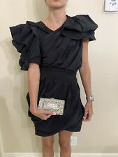 Lanvin  for H&M Womens Chic Black Dress Size Us 4