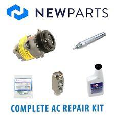 Mini R52 Cooper 02-07 Complete A/C Repair Kit w/ Compressor 6 Poly & Clutch