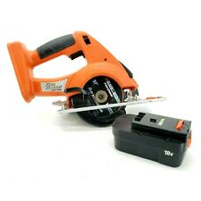 Black and Decker FS1800CS Fire Storm 18V Cordless Circular Saw With One Battery