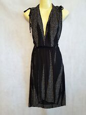 French connection dress, black and white, size 10 RRP £167