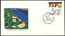 Australia 1988 Expo, día nacional de Francia Cubierta #C44037
