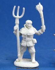 1 x VILLAGEOIS MANIFESTANT - BONES REAPER miniature rpg rioter villager 77140