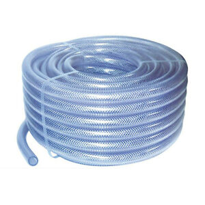 Auto Silicone Hoses Clear Pvc Braided Water Pipe Flexible Plastic Air Tubing