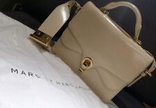 MARC JACOBS Saffiano Leather Shoulder Top handle Satchel Bag in Leche -Pristine
