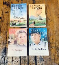 Beverly Lewis (4) Paperback Books - Amish & Christian Novels