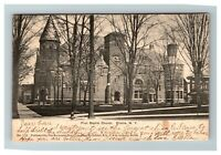 Vintage View of First Baptist Church, Elmira NY c1905 Postcard K10