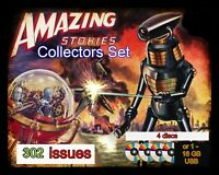 Amazing Stories Pulp collection | fantasy, sci-fi, action 4 disc set -302 issues