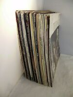 Schallplatten leere Cover, 45 Stk., verschiedene Musikrichtungen