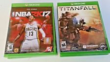 Lot of 2 XBOX ONE Games: NBA 2K17 Early Tip-Off Weekend & TITANFALL