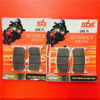 Yamaha YZF 600 R6 (rad.cal) 06 > ON SBS Front Fast Road Sinter Brake Pads 634HS