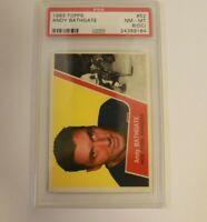 1963 Topps HK #52 PSA 8 (OC) Andy Bathgate Rangers