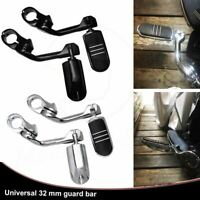 """1-1/4"""" Long Angled Streamline Highway Engine Guard Foot Peg For Harley Touring"""