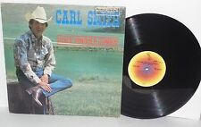 CARL SMITH Silver Tongued Cowboy LP 1978 ABC Hickory Records Country Vinyl