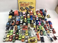 Lot of Mixed Diecast Cars Trucks Helicopters Motorcycles Matchbox Hot Wheels