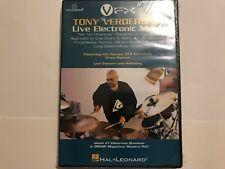 Tony Verderosa: Live Electronic Music (DVD) New