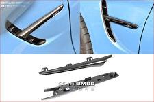 Carbon Fiber Fender Light Trim Side Grille for 2015+ BMW F80 M3 F82 F83 M4