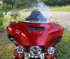 "14"" Clear Windshield  Fits 2014-Current  Harley   FLHR FLHT FLHX Street Glide"