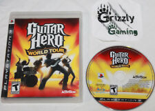 USED Guitar Hero World Tour Sony PlayStation 3 PS3 (NTSC) -Canadian Seller-