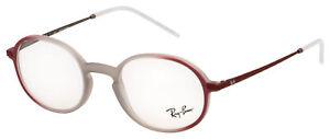 Ray-Ban Eyeglasses RX 7153 5792 50 Light Brown;Bordeaux Frame [50-21-145]