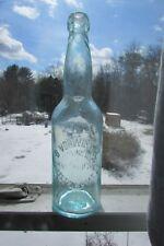 B. VohWinkel Botttling works Corpetri & Doat St Buffalo, NY Blob Beer