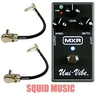 MXR Uni-Vibe M-68 Chorus / Vibrato Guitar Effects M68 ( 2 MXR PATCH CABLES )