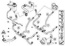 Cooling System Heater Hose Pipe Genuine BMW 3 Serieis E90 E82 X1 17127548222
