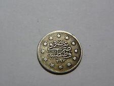 Turkey Ottoman Empire 1 Kurush AH 1293/22 !!!ERROR!!!  293 instead of 1293