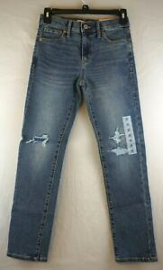 Old Navy Karate Built-In Flex Max Slim Ripped Jeans Size 10 NWT