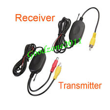 2.4Ghz Wireless RCA Video Transmitter & Receiver Kit for Car Reavering Camera AU