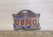 US Marine Corps – USMC – First to Fight Embroidered Patch