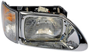 RT H/D Headlight Ass`y Dorman 888-5103,3502929C95 Fits 01-17 International 5900I