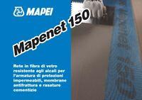 MAPENET 150 RETE IN FIBRA DI VETRO PER MAPELASTIC MAPEI 50 MT - MAPEI