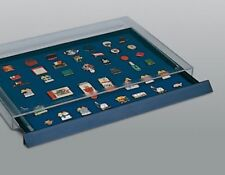 Pin Display Case-Stackable Drawer For Pins, Badges Or Medals