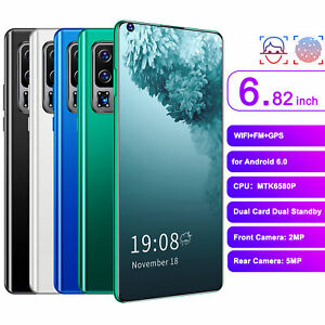 S30U PRO 6.82in HD Perforated Full Screen Phone Dual Card for Android 6.0 2G+16G