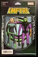 🚨💥 EMPYRE #6 CHRISTOPHER ACTION FIGURE VARIANT Avengers FF NM Gemini Shipping