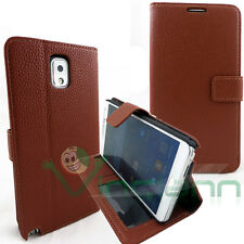 Custodia BOOK STAND MARRONE per Samsung Galaxy Note 3 N9005 III porta-fogli