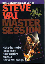 Learn to Play STEVE VAI Master Session Guitar Tutor DVD