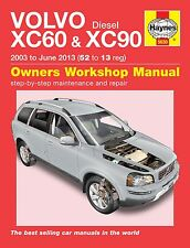 Volvo XC90 Repair Manual Haynes Workshop Service Manual  2003-2013 5630